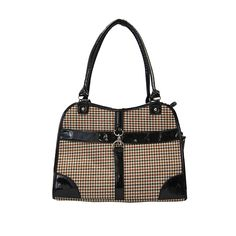 Houndstooth Print Shoulder Bag Carrier >>> Quickly view this special dog product, click the image : Dog stuff