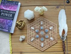 Angel Healing Crystal Grid by Ethan Lazzerini. Learn how to make it... #angels #reiki