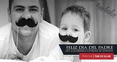 """El equipo de Emboka by Simmons, en la Flota, Murcia, le desea un FELIZ DÍA DEL PADRE , a todos los """"papas """" de Murcia y si no sabes dónde celebrarlo, ¡ ven a conocernos ! Reservas 968241668"""