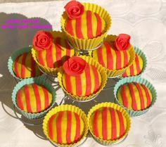Sant Jordi Cupcakes via Quina delícia! #GlobalSantJordi