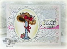 Our Daily Bread Designs Stamp Set: Good Day, Our Daily Bread Designs Paper Collection:Shabby Rose, Our Daily Bread Designs Custom Dies: Pierced Ovals, Pierced Rectangles, Lavish Layers Dies, Doily, Ovals, Beautiful Borders