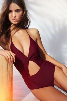 6 Shore Road X UO Divine One-Piece Swimsuit - Urban Outfitters