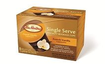 A nice stocking stuffer... Single Serve French Vanilla Cappuccino Coffee Cups (8-Count) French Vanilla Cappuccino, Cappuccinos, Goodies, Coffee, Food, Sweet Like Candy, Kaffee, Gummi Candy, Essen