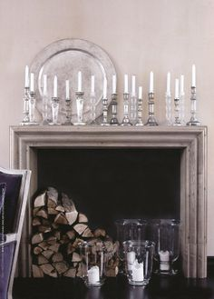 CANDLESTICKS.CRYSTAL AND SILVER .................ZsaZsa Bellagio – Like No Other: At Home: Classic & Elegant
