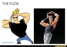 Honestly I wouldn't be be shocked if Johnny Bravo was one of the other 5 million characters based off Polnareff.