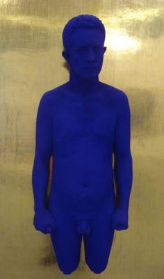Yves Klein - naakt blauw