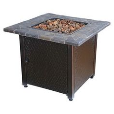 Fernhill 40 square lp fire table threshold