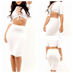 WOMEN SUMMER 2 PIECE HOLLOW BANDAGE DRESSES SEXY CLUBWEAR OUTFIT CUT OUT WHITE EVENING CLUB PARTY DRESS BODYCON BANDAGE DRESS
