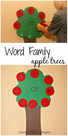 Apple Tree World Family Literacy Game