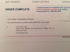 #tickets 2 S/F Line NASCAR Coke Zero 400 Tickets Daytona Inter. Speedway Monster En. Cup please retweet
