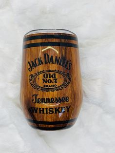 Calling all JD lovers! This tumbler is sure to get some use. Please read the Q&A, Shipping Info and Policies above before placing your order.If personalization is needed, please be sure to leave notes and personalization information in. Diy Tumblers, Personalized Tumblers, Custom Tumblers, Coffee Tumbler, Tumbler Cups, Jack Daniels Barrel, Tumbler Quotes, Girls Tumbler, Small Craft Rooms