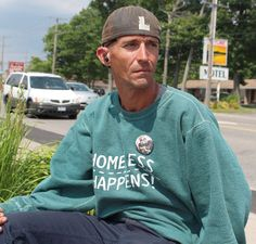 Jason McComb is walking across Canada to encourage respect for the homeless.