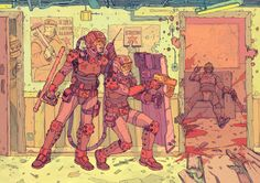 The Future Is Now: Cyberpunk Illustrations Of A Dystopian Future – Design You Trust Science Fiction Art, Cyberpunk, Character Design, Illustration, Sci Fi Art, Cyberpunk Art, Drawing Scenery, Art, Dystopian Future