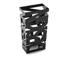 "Stojak na parasole ""Design Negro"", 16 x 28 x 53 cm"