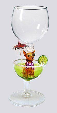 Hand Blown Chihuahua Wine Glass by Yurana Designs W294 by Yurana Designs, http://www.amazon.com/dp/B003FK92II/ref=cm_sw_r_pi_dp_EyaOqb13KQM1S