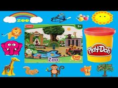 Play Dough Zoo Animals #Fun #Creative #Kids #Playdoh #Learn #Toys #Play #UnboxingVideos #YouTube