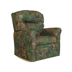 This Contemporary Camouflage Child Rocker Recliner Chair in True Timber fabric will make a statement in any living room. It is perfectly suited for the great outdoors-child. This high-quality recliner comes in kid-durable Camouflage Denim which makes cleaning up crumbled cookie crumbs a snap.... more details available at https://furniture.bestselleroutlets.com/children-furniture/chairs-seats/recliners/product-review-for-dozydotes-child-rocker-recliner-contemporary-camouflage-