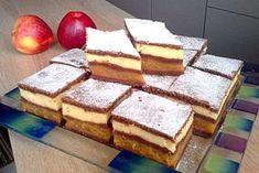 Вам надоели обычные пироги и кексы? Предлагаем рецепт пирожного с яблочным и ванильным кремом