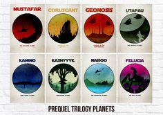 16 Meilleures Images Du Tableau Planete Star Wars Planete