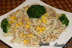 Paste cu ton si porumb - GustoLandia | GustoLandia Paste, Grains, Rice, Vegetables, Food, Hoods, Vegetable Recipes, Meals, Seeds