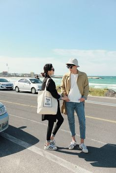 Korean Street Fashion for Couple Outfit - Nona Gaya