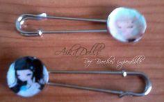 handmade pins broches hechos a mano