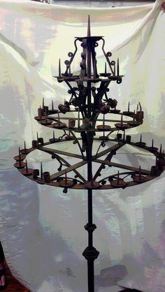 antique gothic candelabra floor - Google Search