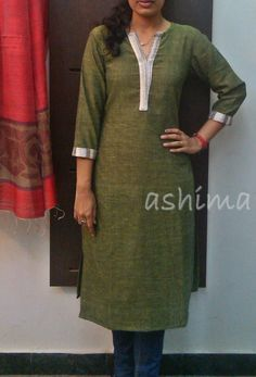 Code:2411150-Khadi Cotton Kurta- Price INR:790/- All sizes available. Free shipping to all courier destinations in India. Online payment through PayUMoney / PayPal