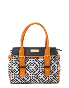 Fold-Over Satchel - Spartina 449
