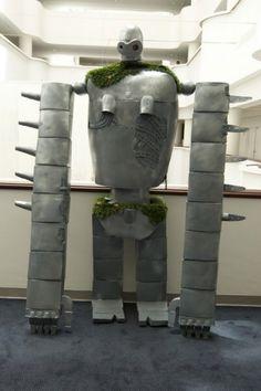 Jenita as Laputa Robot from studio Ghibli