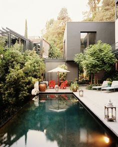 Swimming pools, of course, are always lovely and inviting, but if you've ever seen a dark bottom pool you'll know that they have a little something extra, a deep and mysterious and enticing allure that other pools can't touch