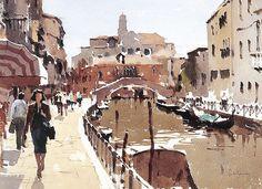 John Yardley. Venetian Waterway