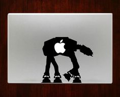 "Star wars atat Decal Sticker Vinyl For Macbook Pro/Air 13"" Inch 15"" Inch 17"" Inch Decals Laptop Cover"