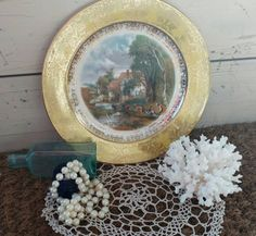 Check out this item in my Etsy shop https://www.etsy.com/listing/276649896/antique-china-decorative-plate
