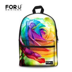 Animal Leopard Print and Rose Flowers Laptop Backpack Shoulder Back Pack Bag for Womens Mens Youth 17
