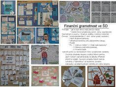 Finanční gramotnost - květen 2017 (14 dní) Bulletin Boards, Numbers, Finance, Shapes, Math, Cover, Books, Projects, Livros