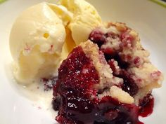 The Grandmother Gig: Blackberry Cobbler