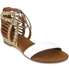 92a89f93449ec Sugar DREALLA Women s Gladiator Sandal with Espadrille White  gt  gt  gt   Insider s special