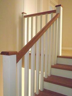 schody w stylu skandynawskim angielskim dębowe olejowane stylowe piękne białe podstopnie