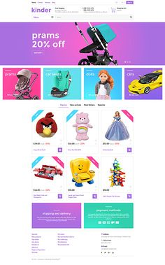 Kids Toys Online Store #Prestashop #template. #themes #business #responsive #webshop #Prestashopthemes