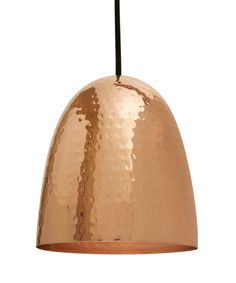 Original BTC Copper-Plated Stanley Pendant Light | Home | Liberty.co.uk
