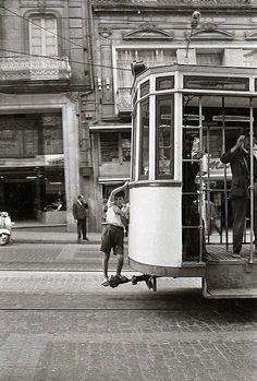 Tranvía no centro de Vigo