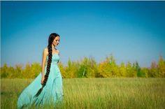 Sakha Türk kızı