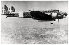 Fiat of Italian Regia Aeronautica bombing targets over Balkans during the campaign against the Greece, end Victor Sierra Aircraft Parts, Ww2 Aircraft, Military Aircraft, Fighting Plane, Italian Air Force, Italian Army, Old Planes, Vintage Airplanes, Royal Air Force