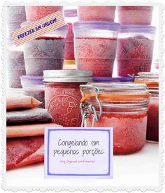 Organize sem Frescuras   Rafaela Oliveira » Arquivos » Ideias para congelar alimentos em pequenas porções + etiquetas fofas de freezer para imprimir