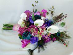 bouquets, boutonnieres via Etsy.