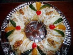 Eternos Prazeres: Rosca de frutas e nozes...para começar a comemorar o Natal!