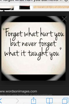 Remember#forgive#learn