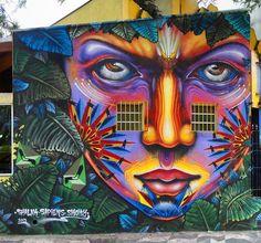 By Smoky, Shalak and Sapiens. in Sao Paulo, Brazil