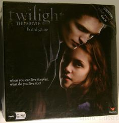 Collectors Set Twilight & New Moon The Movie Board Game Saga 2-8 Players Sealed